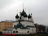 Церковь Спаса на Городу — Ярославль, улица Почтовая, 3