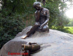 Фонтан «Девушка с кувшином» — Екатерининский парк, Царское село