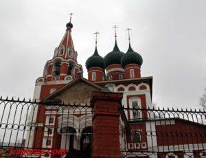 Гарнизонный храм Михаила Архангела — Ярославль, улица Первомайская, 67