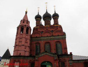 Храм Богоявления Господня — Ярославль, Богоявленская площадь, 12