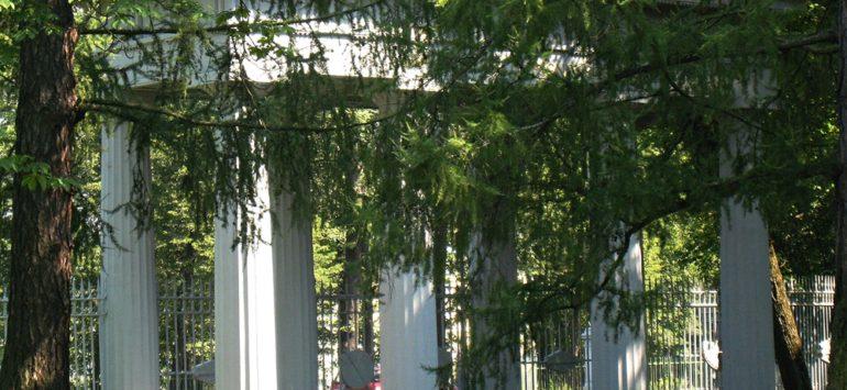 Ворота «Любезным моим сослуживцам» — Екатерининский парк, Царское село