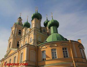 Благовещенская церковь — Санкт-Петербург, 7-я линия Васильевского острова, 68