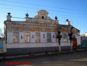 Особняк (МДОУ «Детский сад №5») — Вольск, улица Коммунистическая, 41