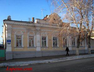 Здание, где в 1918 году находился штаб Таманской дивизии (МДОУ «Детский сад №5») — Вольск, улица Революционная, 29