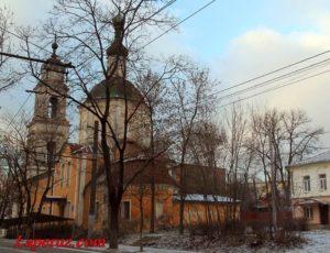 Церковь Богоявления Господня на старом остроге — Калуга, улица Кутузова, 23