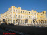 Дом Брусянцева (Администрация Вольского муниципального района) — Вольск, улица Октябрьская, 114