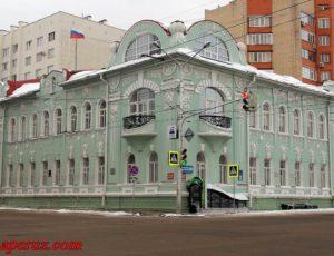Дом Костерина и Черникова (Башкортостанская таможня ) — Уфа, улица Пушкина, 86