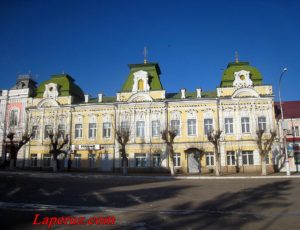 Дом купца Левшина — Вольск, улица Октябрьская, 108