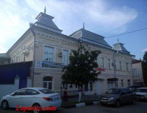 Особняк (ГУ «Центр социального обслуживания населения») — Вольск, улица Чернышевского, 74