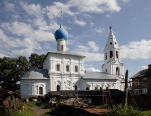 Церковь Козьмы и Дамиана (Смоленская) — Ростов Великий, Перовский переулок, 10