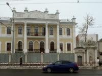 Усадьба Сорокина («Дом со львами») — Ярославль, улица Большая Октябрьская, 48А