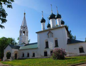 Церковь Николая Чудотворца в Рубленом городе — Ярославль, Которосльная набережная, 8