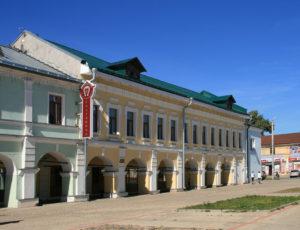 Торговые ряды (Дом Хлебниковых) — Ростов Великий, улица Маршала Алексеева, 9