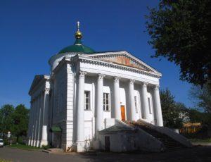 Ильинско-Тихоновская церковь — Ярославль, Волжская набережная, 5