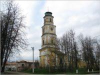 Колокольня Воздвиженской церкви — Ростов, Советская площадь, 19А