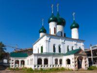 Церковь Вознесения Господня — Ярославль, улица Свободы, 44А
