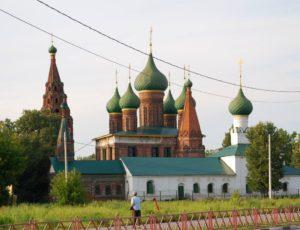 Церковь Николы Мокрого (Николая Чудотворца) — Ярославль, улица Чайковского, 1Б