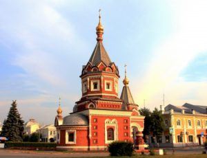 Часовня Александра Невского — Ярославль, улица Андропова, 8