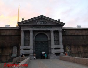 Невские ворота — Петропавловская крепость