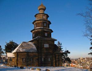 Старо-Вознесенская (Тихвинская) церковь — Торжок, 2-й Старицкий переулок