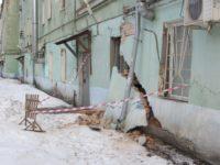В Твери обрушилась часть дома XVIII века