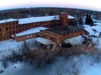 В посёлке Волга уничтожают старинную фабрику
