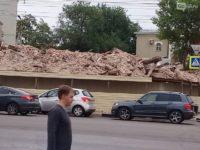 В Тамбове уничтожили часть дома XVIII века