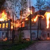 В Сортавале сгорела больница 1907 года постройки