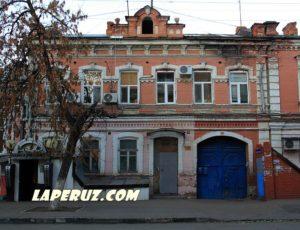 Жилой дом А.М. Шпехт — Саратов, улица Киселёва, 16