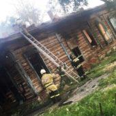 В Омске вновь подожгли дореволюционный деревянный особняк