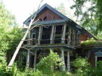 В Новой Москве развалилась усадьба Бергов