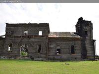 В Новой Осиновке обрушилась колокольня деревянного храма