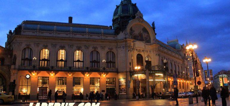 Общественный дом (Obecní dům) — Прага, Náměstí Republiky 1090/5