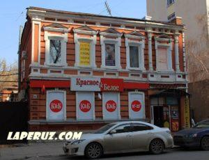 Восточный корпус усадьбы И.К. Чуевой — Саратов, улица Сакко и Ванцетти, 62