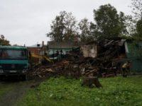 Администрация Новой Ладоги снесла исторические дома