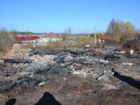 В селе Лався сгорел храм XVII века