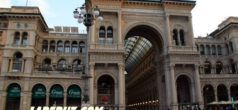Галерея Виктора Эммануила II (Galleria Vittorio Emanuele II) — Милан, Piazza del Duomo