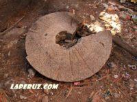 Разрушающаяся мельница Борелей в Константиновке
