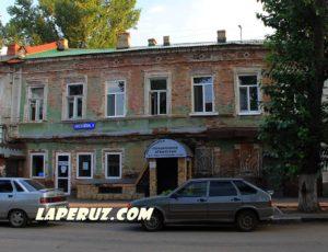 Доходный дом К.К. Деттерера с трактиром и постоялым двором — Саратов, улица Киселёва, 5