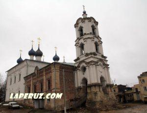 Церковь Успения — Касимов, Соборная площадь, 1А