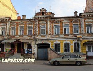 Доходный дом В.А. Агарёвой с флигелями — Саратов, улица Киселёва, 17