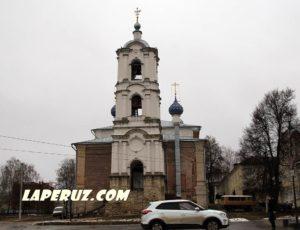 Колокольня церкви Успения — Касимов, Соборная площадь, 1А