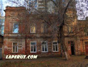 Жилой дом городской усадьбы — Саратов, улица Шевченко, 49