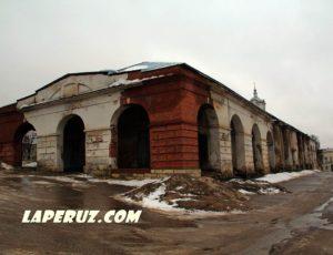 Три корпуса торговых рядов — Касимов, Соборная площадь, 3А, 13Б, 3Б