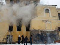 Во Пскове загорелась галерея современного искусства