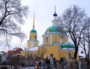 Казанская церковь — Рязань, улица Голениченская, 51