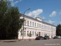 Общежитие Духовной семинарии (Школа №6) — Рязань, улица Семинарская, 6