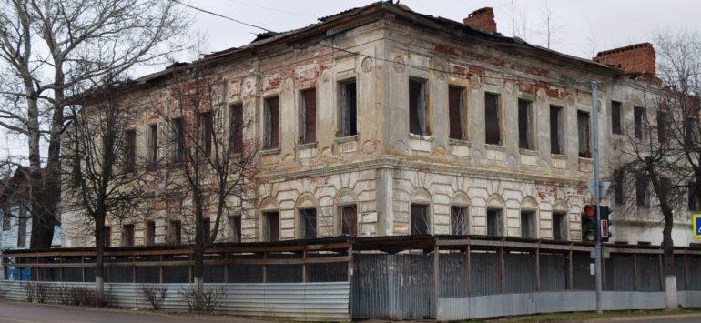 Названы сроки восстановления старинной усадьбы в Зарайске