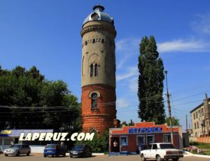 Водонапорная башня — Петровск, улица Железнодорожная, 1