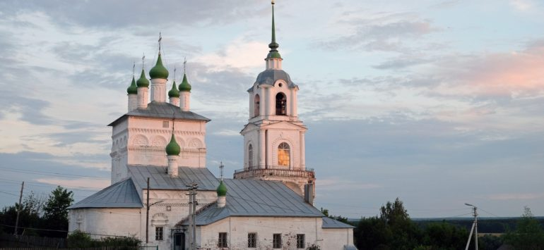 Георгиевская церковь — Касимов, улица Октябрьская, 8А